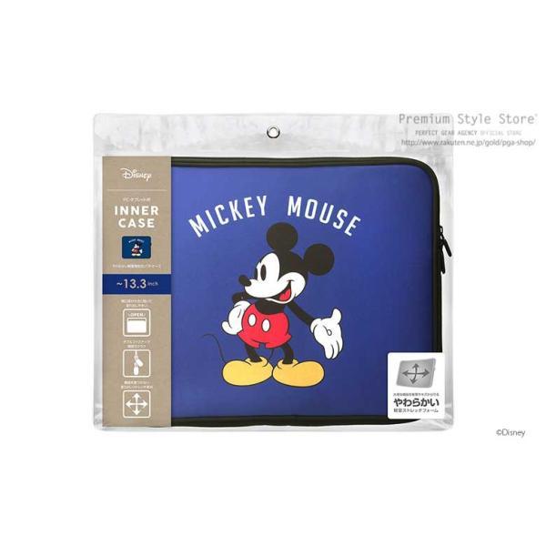 ディズニー パソコンケース PC・タブレット用インナーケース ミッキーマウス 軽量薄型 ノートパソコン PCケース  pg-a 06