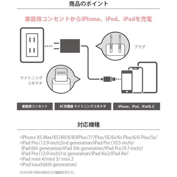 (予約販売)LightningコネクタAC充電器 2.1A|pg-a|02