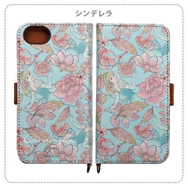 (完全受注生産)ディズニープリンセス iPhone8 iPhone7 iPhone6s iPhone6 フリップカバー ※ご注文後1ヶ月以内に発送 PG-UVDFP|pg-a|09