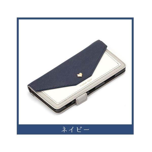 XperiaXZ3 手帳型ケース スマホケース ダブルフリップカバー スクエア型ポケット|pg-a|05