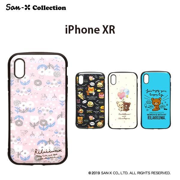 San-X iPhone XR用 ハイブリッドタフケース pg-a