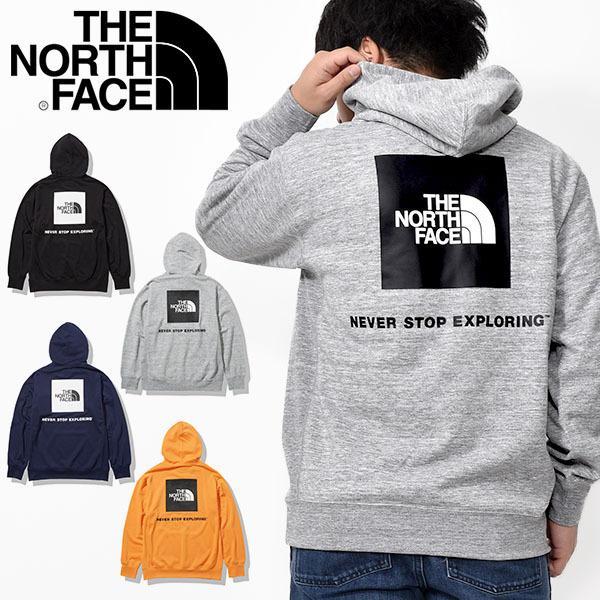 ザ・ノースフェイス パーカー メンズ THE NORTH FACE バック スクエア ロゴ フーディー 裏毛 スウェット プルオーバー 2021春新作 nt12142