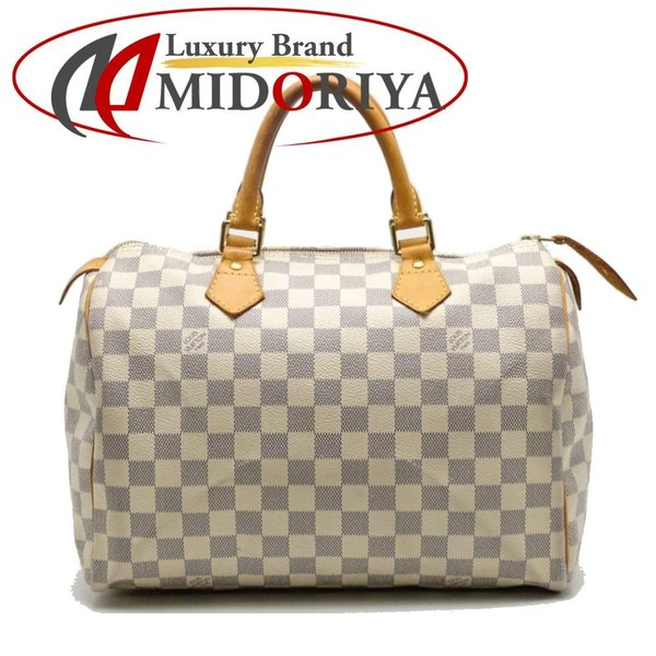 purchase cheap 3a5cb 1b452 ルイヴィトン LOUIS VUITTON N41533 ダミエアズール スピーディ30 ボストンバッグ/052377【中古】