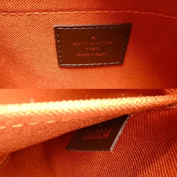 ルイヴィトン LOUIS VUITTON N41434 ダミエ リベラMM エベヌ ハンドバッグ/053831