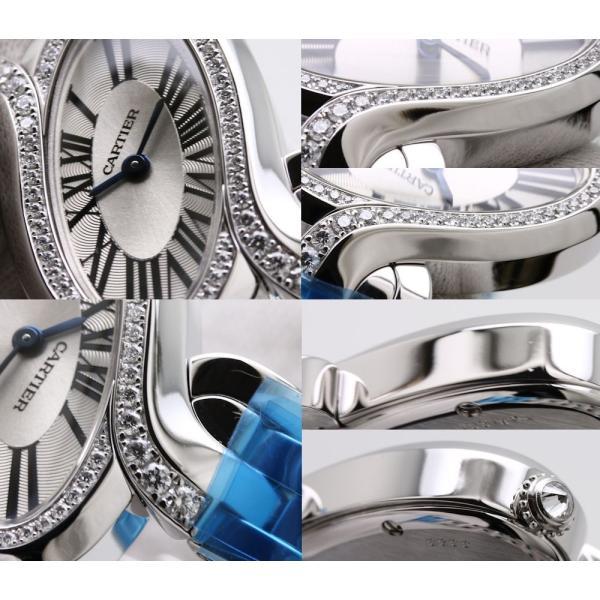 カルティエ CARTIER デリス ドゥ カルティエ SM WG800004 レディース ダイヤモンド/34801 【中古】 【オーバーホール済/ 外装磨き仕上げ済】 腕時計|phasemidoriya78|05
