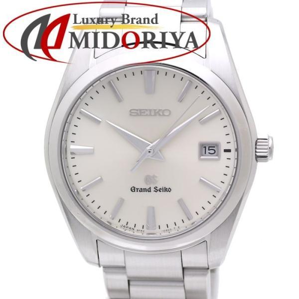 グランド セイコー GRAND SEIKO SBGX063 メンズ 9F62 0AB0 デイト シルバー クオーツ GS /35870【中古】 腕時計
