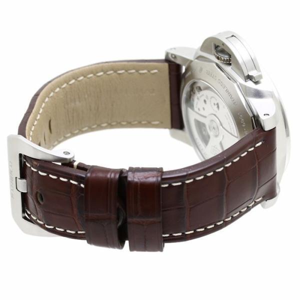 パネライ ルミノール1950 3デイズ GMT PAM00320 PANERAI メンズ 替えベルト2本付き /36291 【中古】 腕時計|phasemidoriya78|06