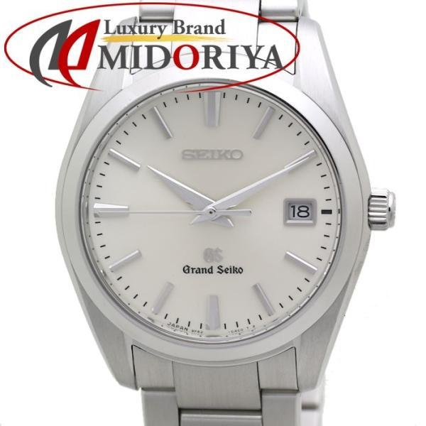 グランドセイコー GRAND SEIKO SBGX063 メンズ 9F62-0AB0 デイト シルバー クオーツ /36317 【中古】 腕時計
