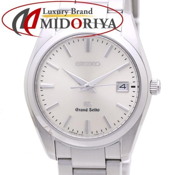 セイコー GRAND SEIKO グランドセイコー GS SBGX063 9F62-0AB0 クォーツ ホワイト メンズ /36959 【中古】 腕時計