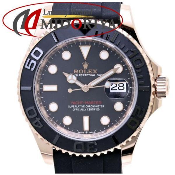 ロレックスROLEXヨットマスター4012665518KRG無垢メンズ2019年 /37377 未使用 腕時計
