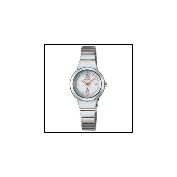 セイコー  ルキア  ソーラー 電波 時計 レディース 腕時計 SSVW051