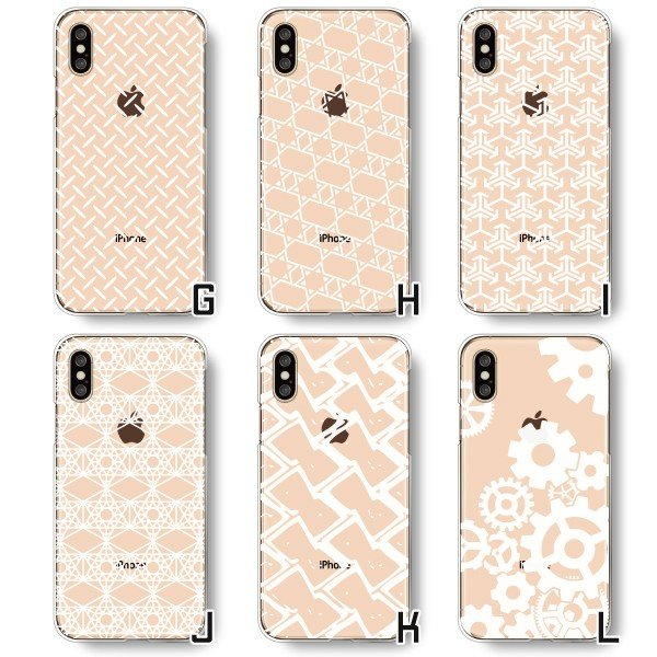 Android iPhone11 XS Max XR Xperia 他 ケース かわいい 選べる ホワイト柄 スマホケース カバー メール便送料無料|phoca|04