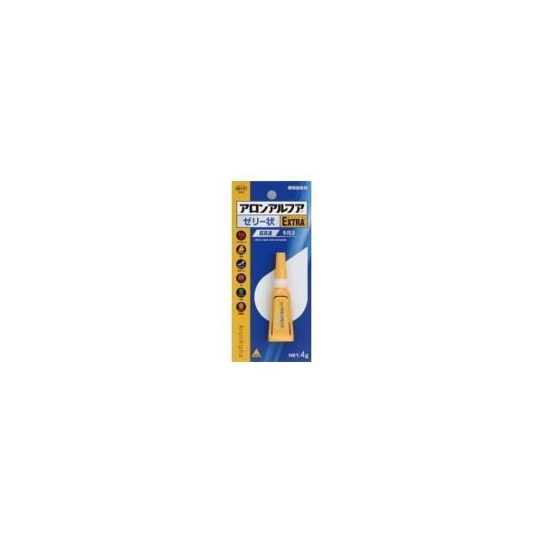 【送料無料&500円クーポン発行中!】KONISHI コニシ ボンド アロンアルファ EXTRA ゼリー状 4g 10個セット ♯05274|phoenix-zakka