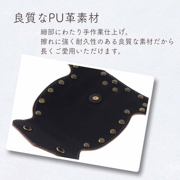シザーケース PU革 美容師 おしゃれ プロ仕様 /腰シザーケース phoenix-zakka 06