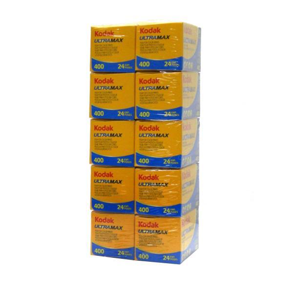 コダック カラーネガフィルム ULTRA MAX 400 35mm 24枚撮り 10本セット (Kodak ウルトラマックス)