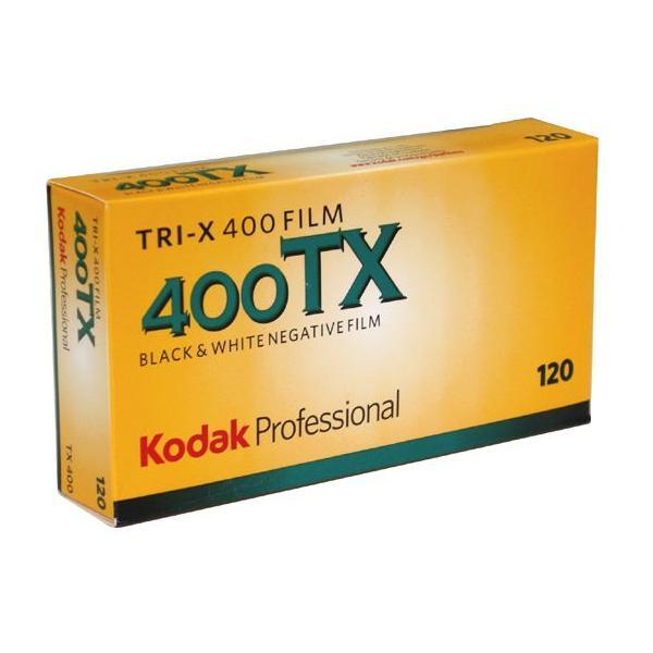 コダック プロフェッショナル トライ-X400 120 5本パックの画像