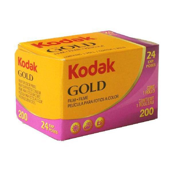 コダック ゴールド 200 24枚撮り (kodak GOLD 200 カラーネガフィルム)