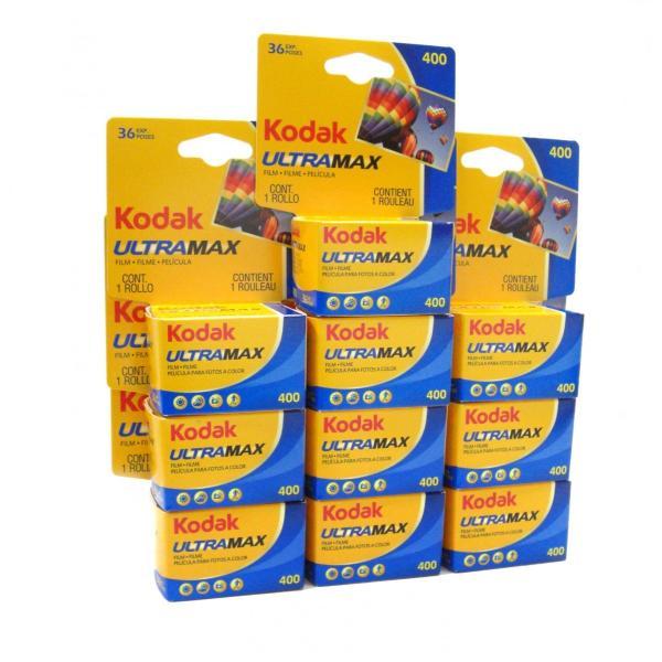 コダック カラーネガフィルム ULTRA MAX 400 35mm 36枚撮り 10本セット (Kodak ウルトラマックス)