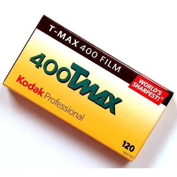 【5本入】T-MAX 400 <ブローニー120> ISO感度400★白黒フィルム/黒白/モノクロ TMY★コダック Kodak 0041778568217