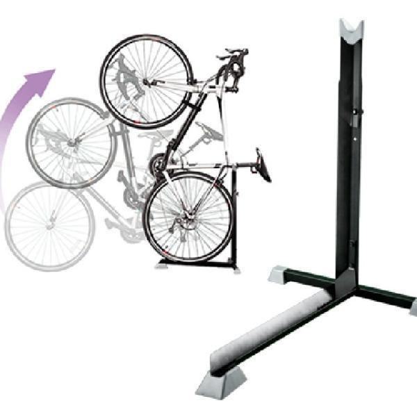 【B106】自転車スタンド L字型 縦置きスタンド ...