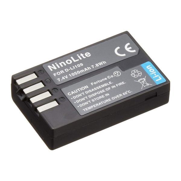 定形外 ペンタックス(PENTAX) D-LI109互換バッテリー K-S1, K-r, K-30, K-50
