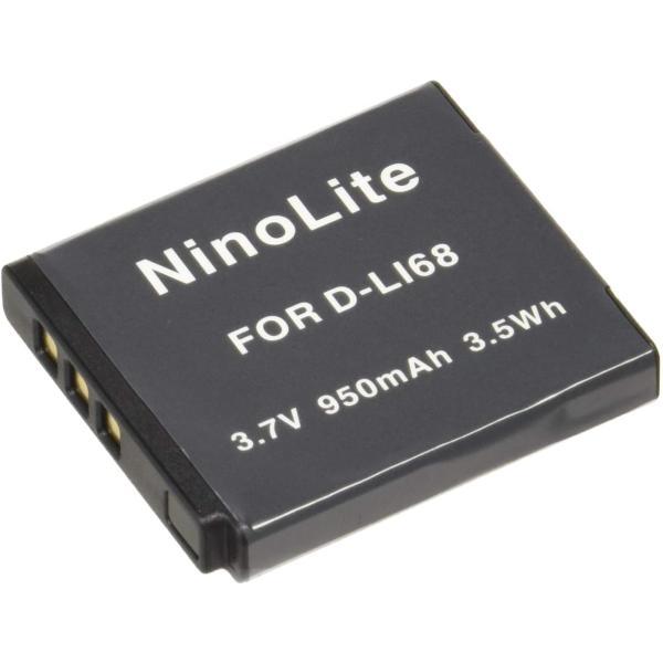 定形外 ペンタックス(PENTAX) D-LI68/D-LI122互換バッテリー Optio VS20/Optio S10/Q/Q7/Q10/Q-S1対応