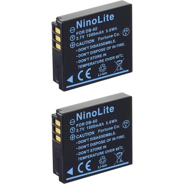 定形外 リコー(Ricoh) DB-65互換バッテリー 2個セット GR DIGITAL III/G600/GX200等対応