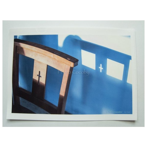 A4クリアファイル/蒼い影|photoroom-g