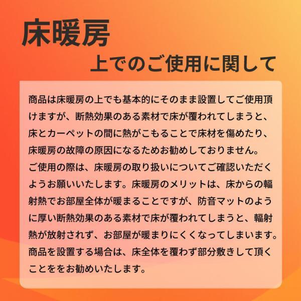 防音マット 防音カーペット タイルカーペット 床 防音 防振 ピアノ防音 エクササイズ  騒音 楽器防音 遮音 455mm×910mm ピアリビング P防振マット 厚さ10mm|pialiving|08