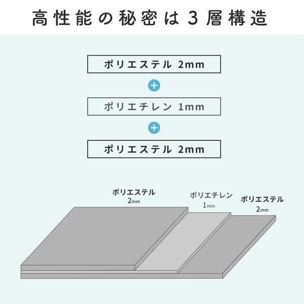 防音マット・防音シート 足音マット 1000×500mm 5枚組 騒音対策 pialiving 05