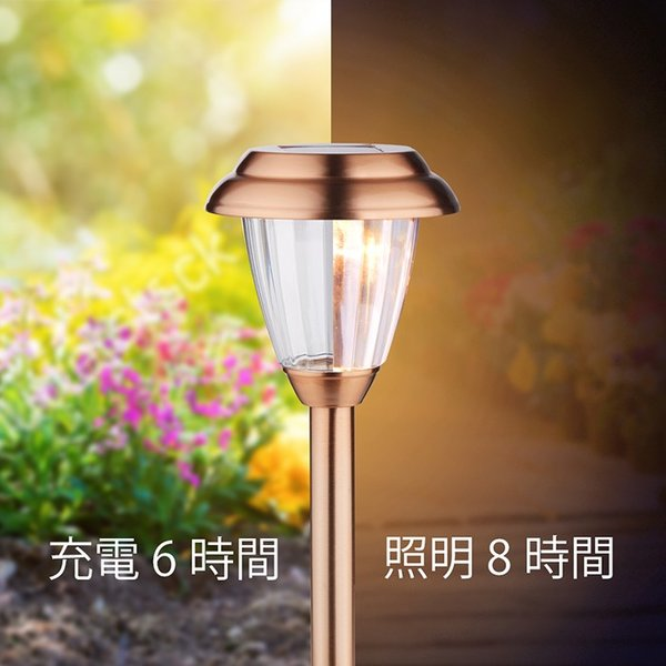 【8個セット】Finether ガーデンライト ソーラーライト 防水 パスライト ガーデンランプ ソーラー LEDガーデンライトソーラー 埋め込み式|pianisimo|06