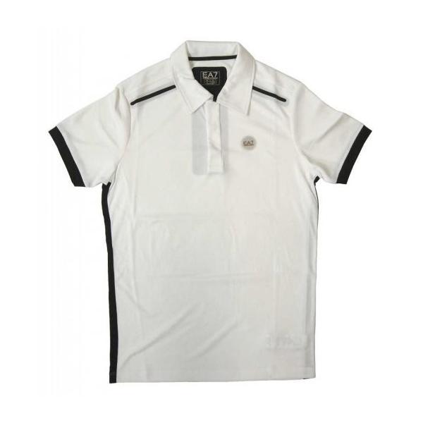 official photos 6634a 2f5ec アルマーニ ポロシャツ (ホワイト) Lサイズ 速乾素材 ゴルフ用 ...