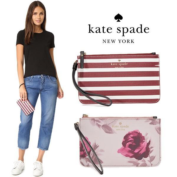 【取寄品】★Kate Spade new york★ Slim Bee Wristlet /ポーチ