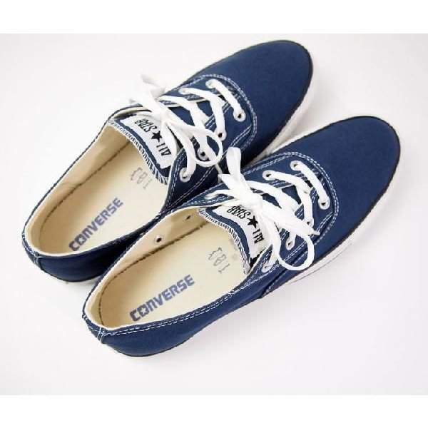 ce9031257701 CHUCK TAYLOR CONVERSE ALL STAR CT CLEAN CVO OX NAVY   Buyee ...