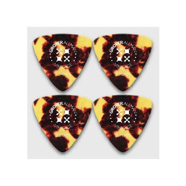 グローバーオールマン ピック ビンテージセルロイド ラージ・トライアングル オニギリ型|pick-store|04
