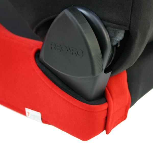 【特典付き】レカロシートカバー シートサイドカバー SR-7/11 FKファブリック 2colors 片側単品 7-wood pick-up 03