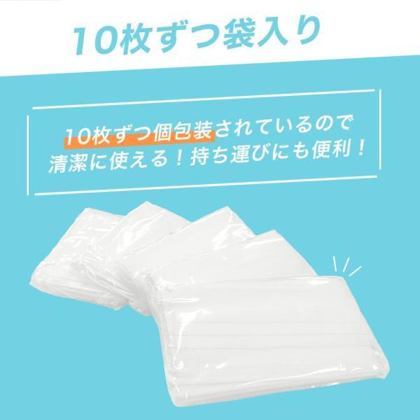 期間限定特価 安心のCEマーク FDA認証 マスク 100枚 不織布 使い捨て マスク 白 ウイルス 花粉 ハウスダスト 風邪 大掃除 予約販売 予17 pickupplazashop 10