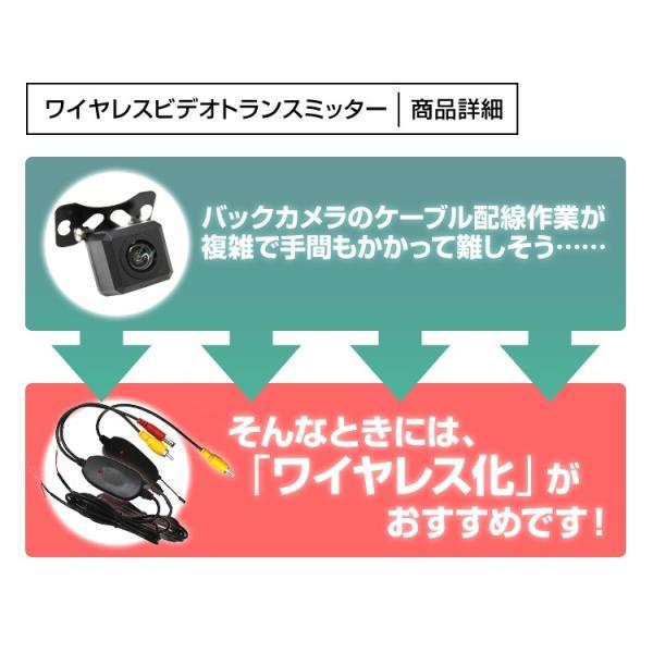 バックカメラ ワイヤレス ビデオトランスミッター 2.4GHz ワイヤレスビデオトランスミッター 車載用カメラ|pickupplazashop|02