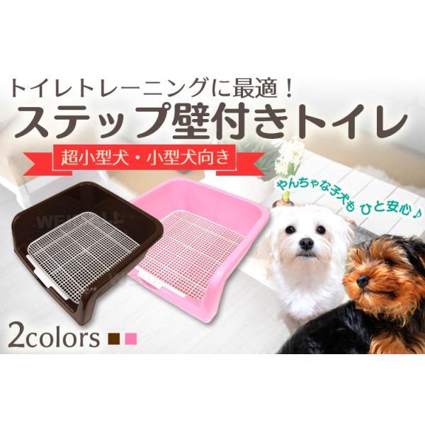 犬 トイレ トレーニング しつけ用ステップ壁付き メッシュ|pickupplazashop|02