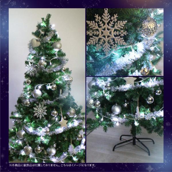 クリスマスツリー 北欧風 飾り180 cm ヌードツリー コニファー 針葉樹|pickupplazashop|05