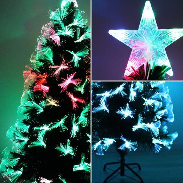 クリスマスツリー 北欧風 飾り 光ファイバー 150 cm ヌードツリー コニファー 針葉樹|pickupplazashop|04