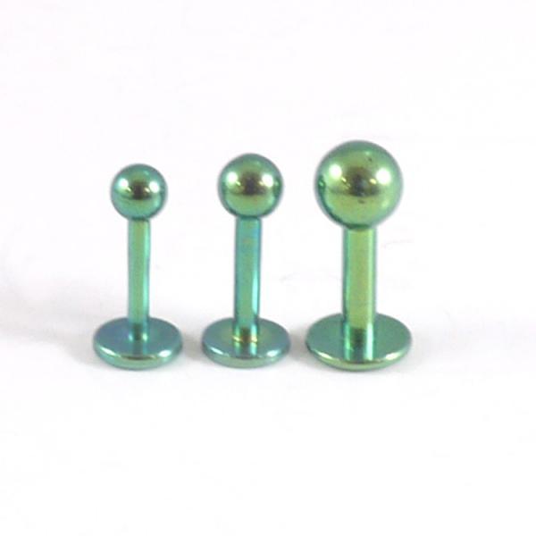 500円ポッキリSALE ボディピアス カラーチタンラブレットスタッド 14G ボディーピアス|piercing-nana|04