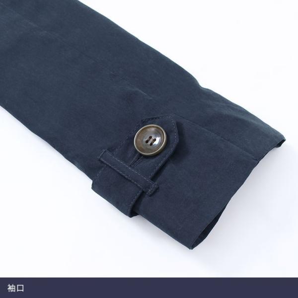 (夏セール)コート/アウター/トレンチコート/ショート丈/ピーチ素材|pierrot-webshop|08