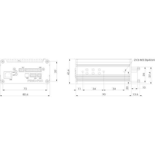 USB接続による高精度制御対応ドライバ PSMD-PCC|piezo-sonic|02