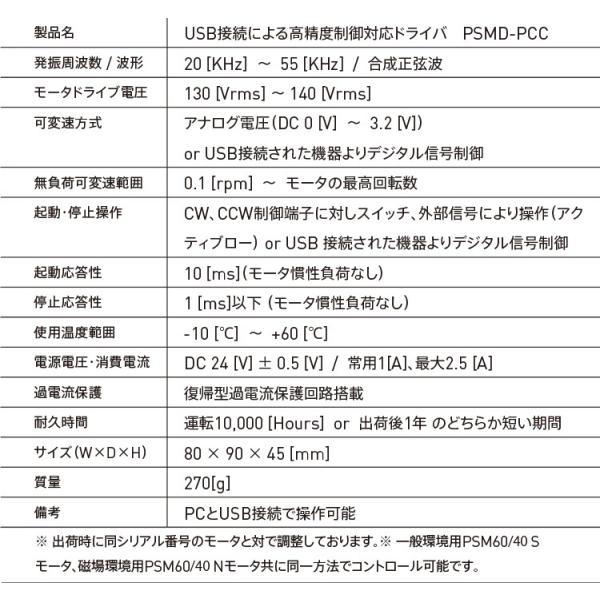 USB接続による高精度制御対応ドライバ PSMD-PCC|piezo-sonic|03