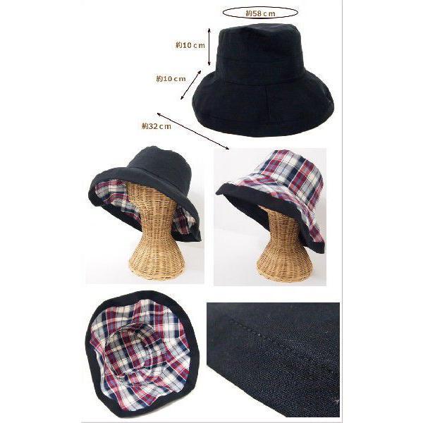 即出荷 帽子 レディース uvカット 日よけ 折りたたみ 春 夏 おしゃれ つば広 UVハット たためる帽子ハット つば広 大きい日さし|piglet|05