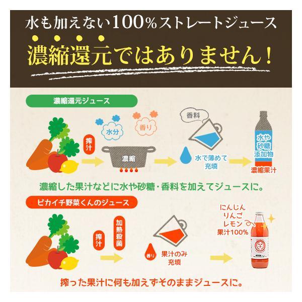 繊維入りにんじんりんごレモンジュース 1000ml×1本 栄養機能性食品 ビタミンA ストレートジュース 無農薬人参 食品|pika831|14