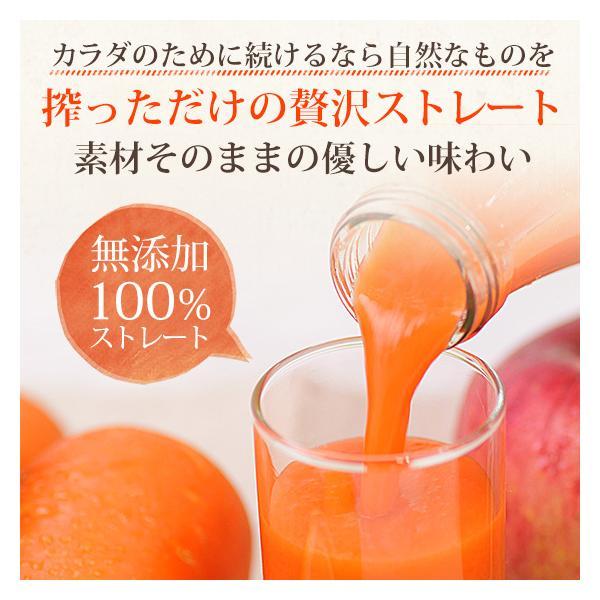 繊維入りにんじんりんごレモンジュース 1000ml×1本 栄養機能性食品 ビタミンA ストレートジュース 無農薬人参 食品|pika831|15