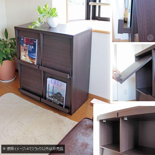 ディスプレイラック 本棚 収納ラック レコード収納|pikaichi-kagu|04