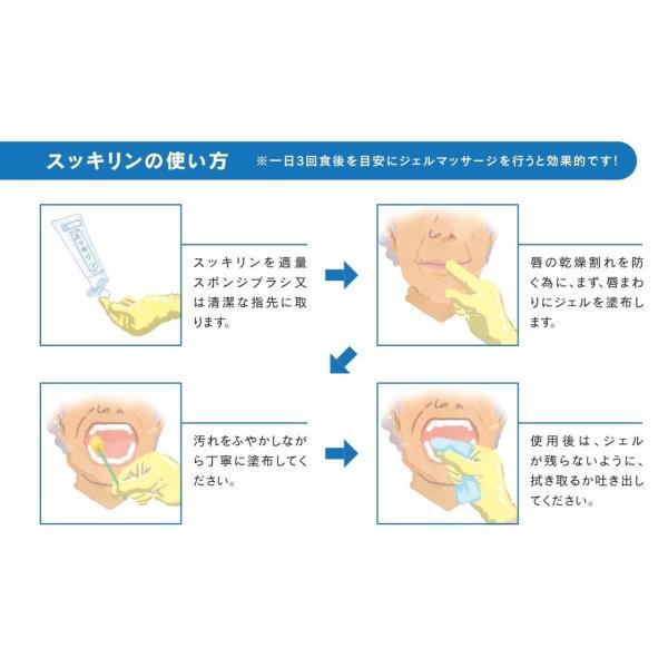 ◆スッキリン◆高い保湿力と高い清掃性を 合わせもった口腔内保湿ジェル|pikasshu1081|04